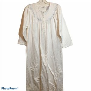 Kay Anna cotton blend traditional night gown